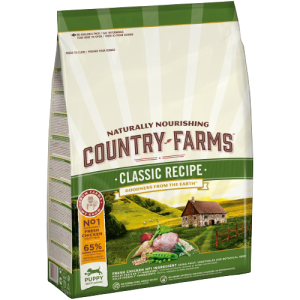 COUNTRY FARMS CLASSIC RECIPE PUPPY CHICKEN 2,5KG