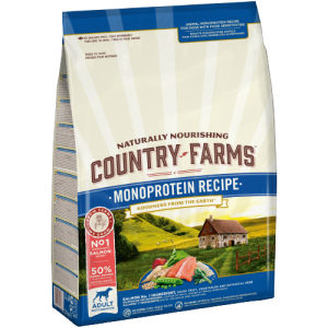 COUNTRY FARMS MONOPROTEIN RECIPE ADULT SALMON 10KG