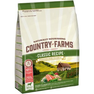 COUNTRY FARMS CLASSIC RECIPE ADULT SALMON 12KG