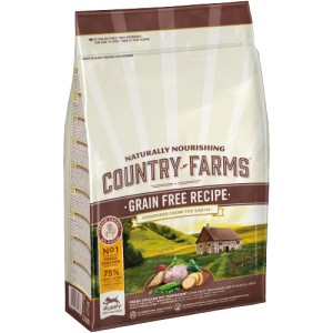 COUNTRY FARMS PUPPY CHICKEN GRAIN FREE 2,5kg