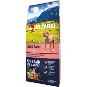 Ontario adult large lamb & rice 2,25 kg