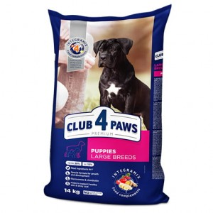CLUB 4 PAWS PUPPIES LARGE 14 kg