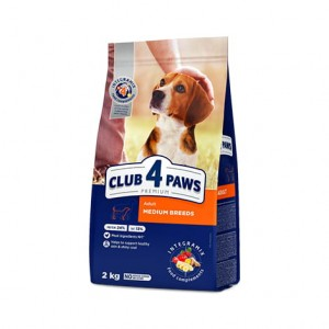 CLUB 4 PAWS ADULT MEDIUM 2 kg