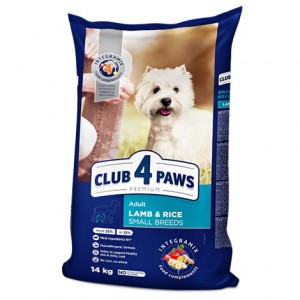 CLUB 4 PAWS ADULT LAMB SMALL 900g