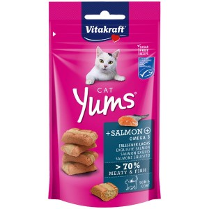 VITAKRAFT cat yums + salmon 48g