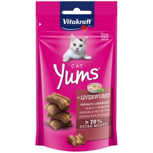 VITAKRAFT cat yums + liverwurst 48g