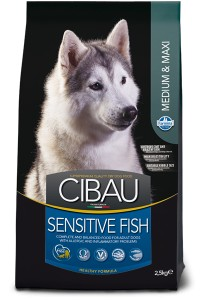 FARMINA CIBAU SENSITIVE FISH MEDIUM&MAXI 12kg
